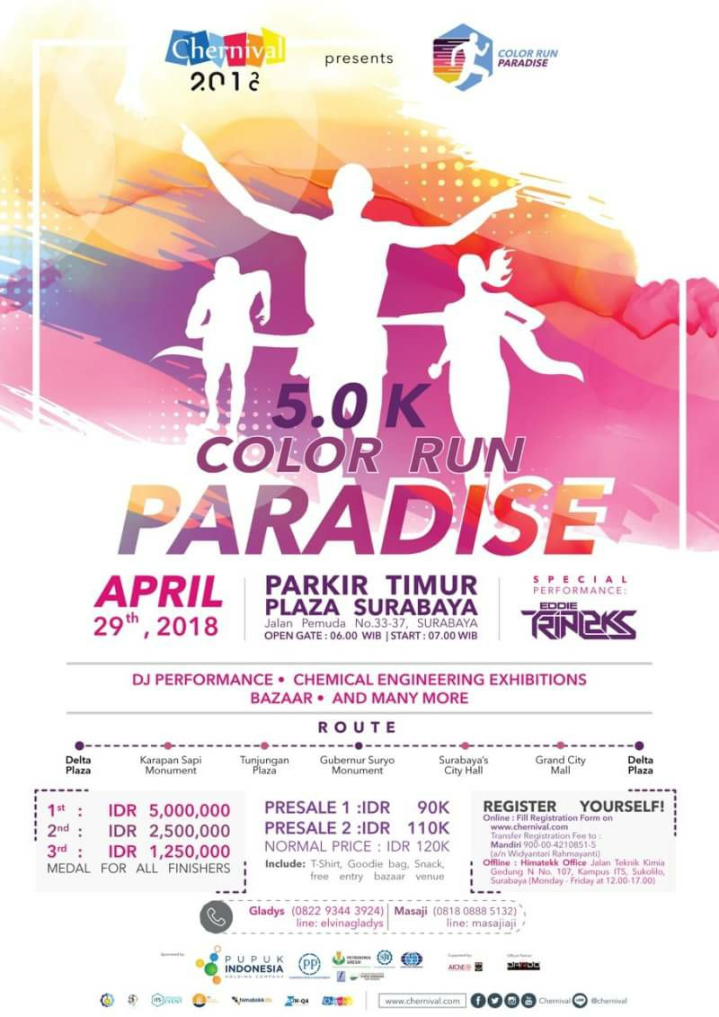 Paradise - Color Run • 2018