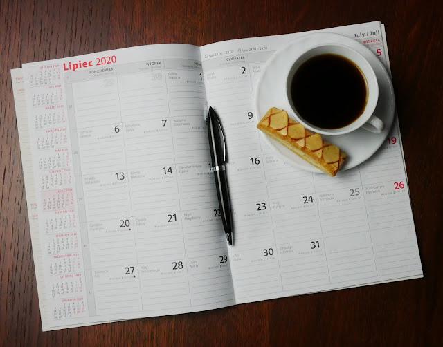 Diy kalendarz do zapisywania ważnych informacji Scann.R