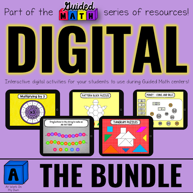 Digital Math Bundle