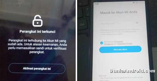 Melewati Perangkat Xiaomi terkunci Mi Akun
