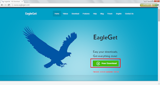 Aplikasi Download Accelerator Gratis Alternatif IDM - EagleGet