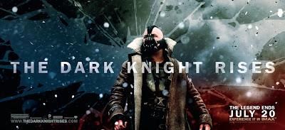 The Dark Knight Rises Theatrical Movie Banner Set 2 - Tom Hardy as Bane