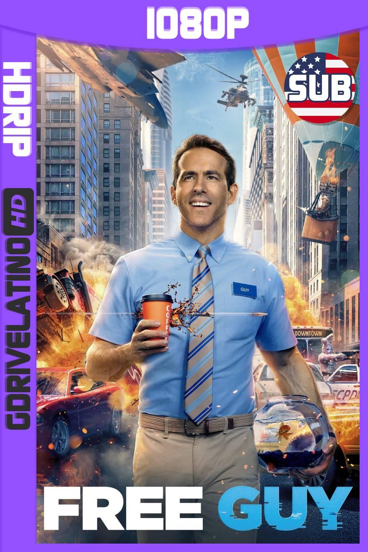 Free Guy: Tomando el Control (2021) HDRip 1080p Subtitulado MKV
