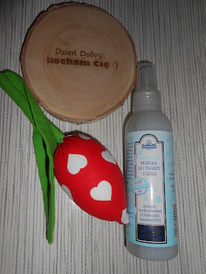 Iwniczanka kosmetyki- płyn micelarny oraz odświeżająca mgiełka do twarzy i ciała