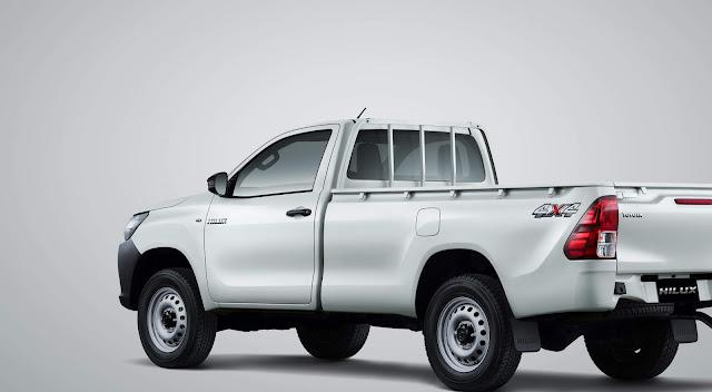 Toyota Hilux Single Cabin mesin baru