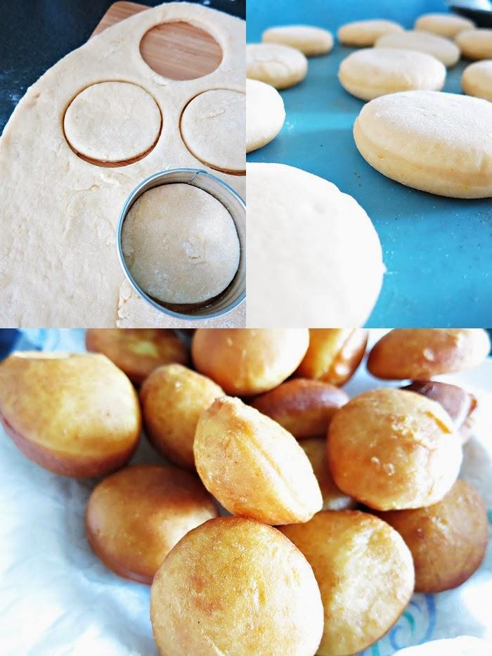 Bomboloni mit Aprikosen-Fruchtaufstrich
