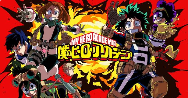 Anime Action School Terbaik - Boku no Hero Academia