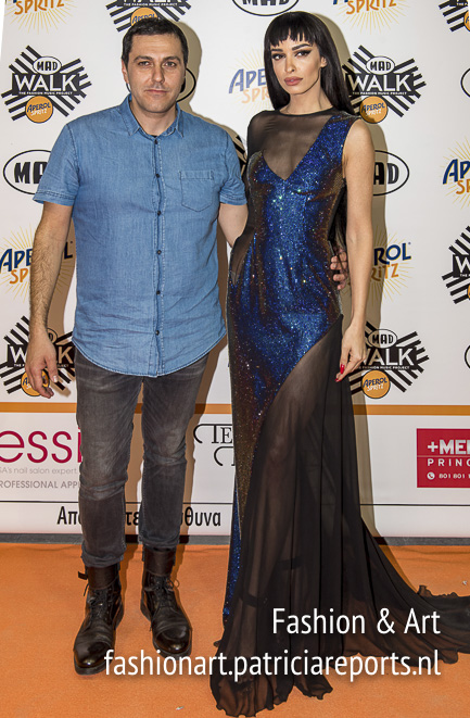 Vrettos Vrettakos and Eleni Foureira