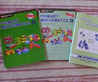 Singapore Math Primary Mathematics Materials for Level 2A