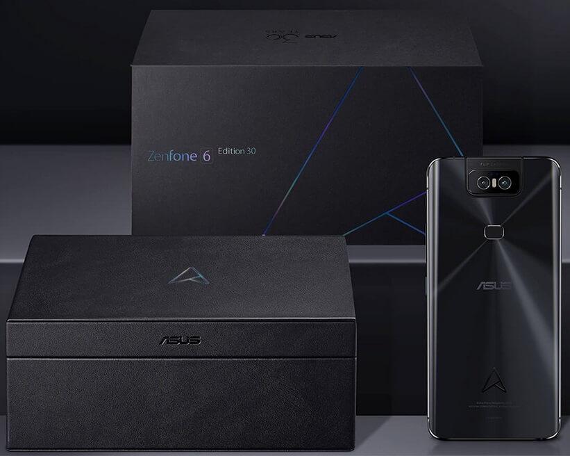 ASUS ZenFone 6 Edition 30 Announced