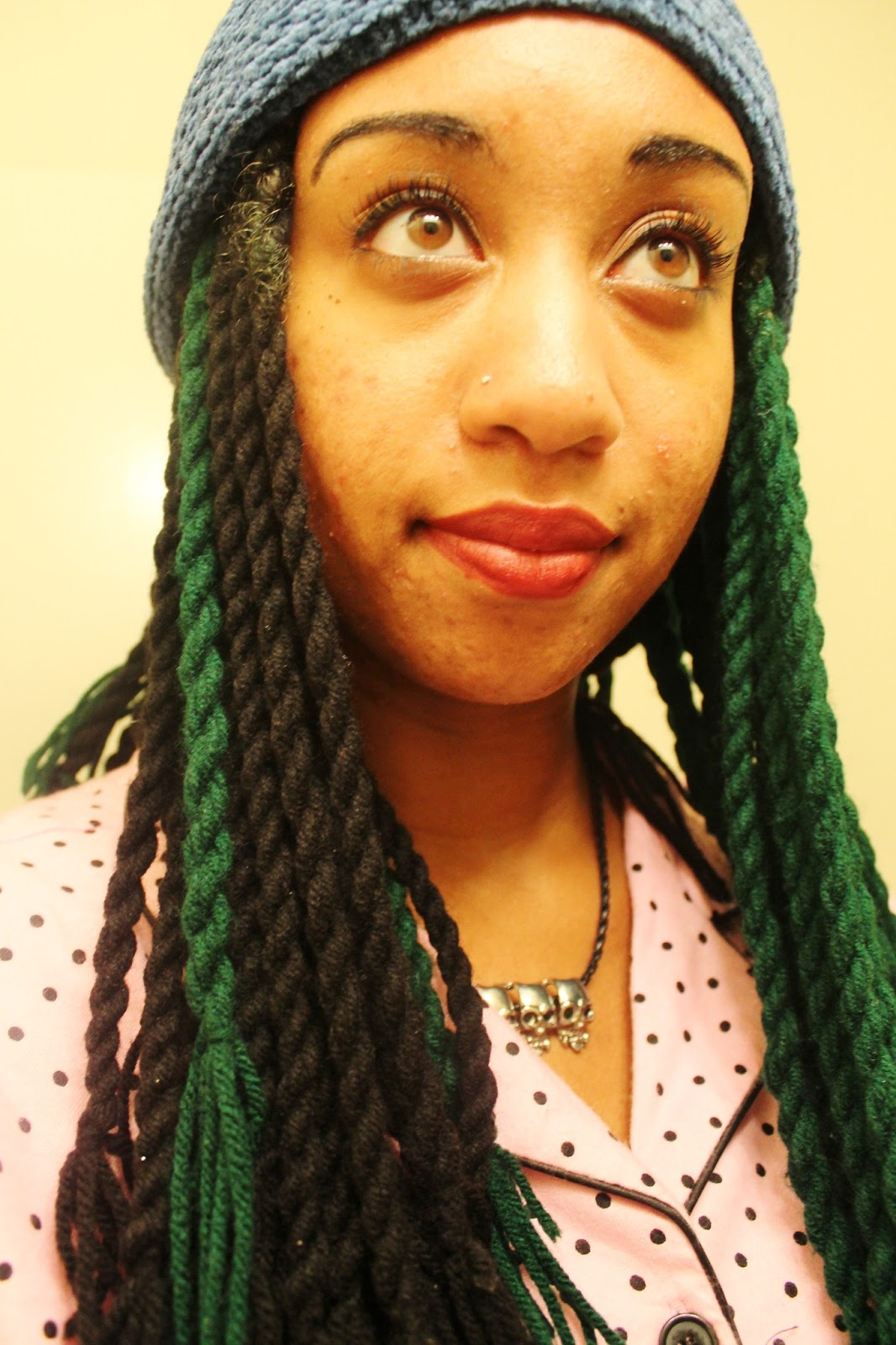 Dear Kitty D Hairstyle Yarn Twists Braids