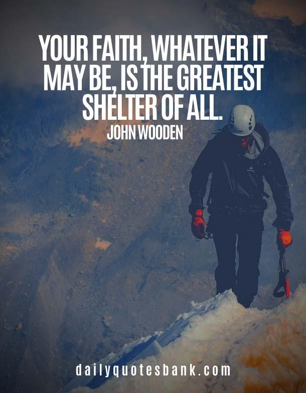 John Wooden Quotes On Faith