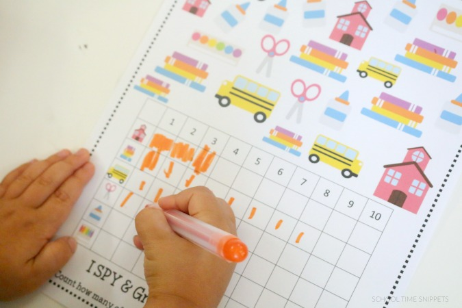 printable math game for preschoolers