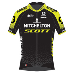 La plantilla del Mitchelton - Scott en 2020