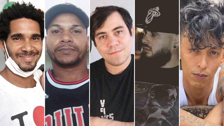 Cinco aristas de la isla fueron detenidos desde las protestas del domingo 11 en Cuba / WEB