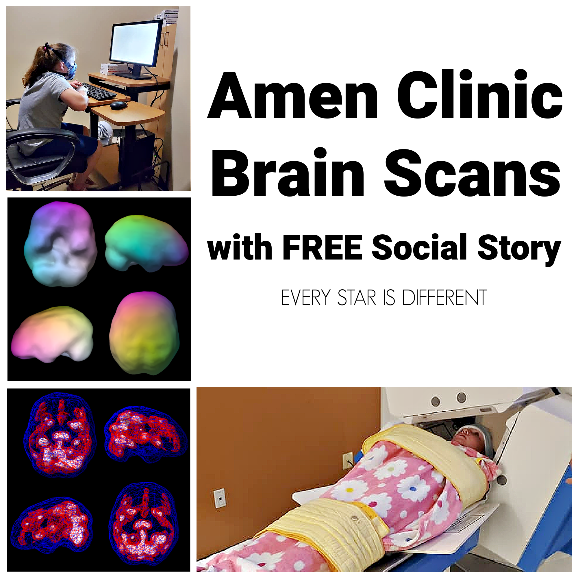 Amen Clinic Brain Scans with FREE Social Story