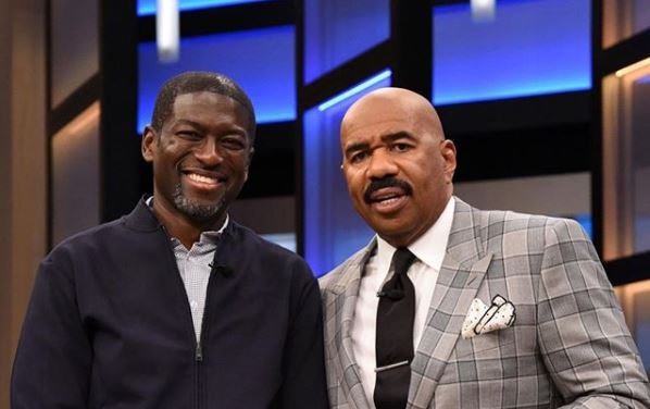 Ghanaian Billionaire Oil And Gas Mogul, Kevin Okyere talks philanthropy on the Steve Harvey Show after previously donating $10,000 on the show