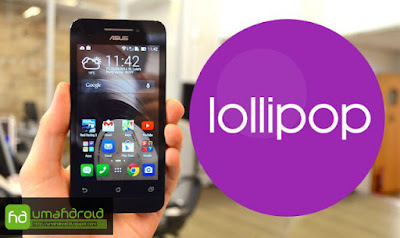 Download Update ASUS Zenfone 4S Android Lollipop