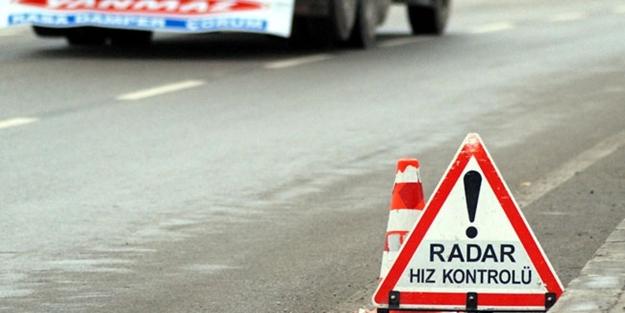 Hız sınırını aşan sürücülere uygulanan ceza