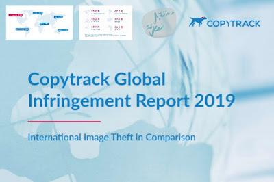 تقرير لشركة Copytrack حول الصور المقرصنة التي يتم مشاركتها يوميا عبر الإنترنت