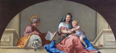Copy of Andrea del Sarto's Madonna del Sacco,Irene Parenti Duclos
