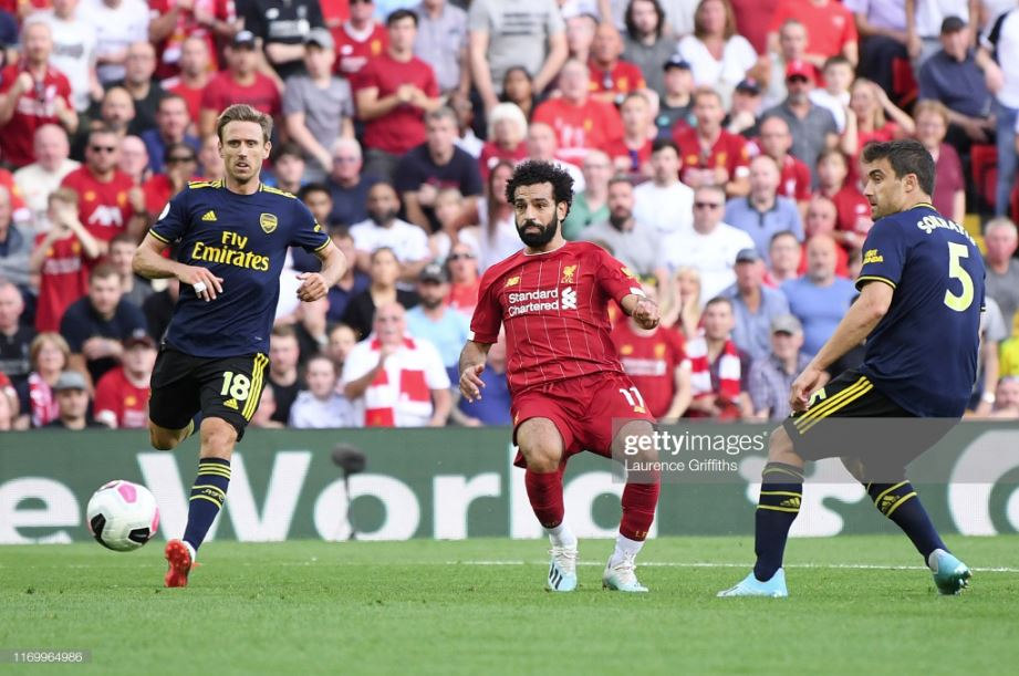 Liverpool - Arsenal 5: 5 (5: 4) English classic: Arsenal lost to Liverpool again