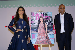 Bollywood Actress Juhi Chawla Launchs Better Homes 10th Anniversary Celetion Cover  0038.JPG