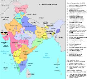 भारतीय राज्य पुनर्गठन आयोग (States Reorganisation Commission)