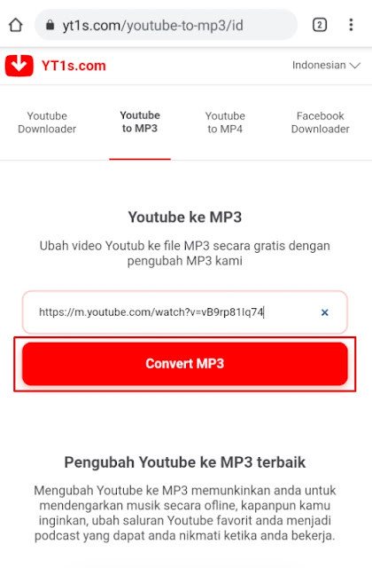 download video youtube jadi mp3 tanpa aplikasi