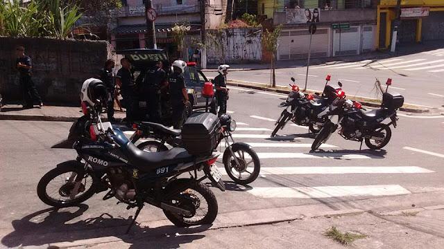 ROMO da GCM de Santo André persegue e apreende menor com moto furtada
