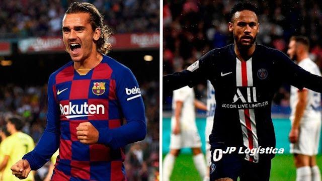 Una encuesta ha decidido entre Neymar y Griezmann (71% contra 29%) ¿Quién piensas que ha ganado….?