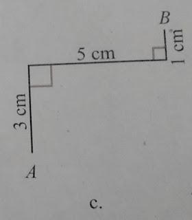 soal c tentukan panjang AB dari gambar berikut