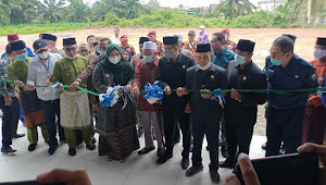 Bupati Masnah Muarojambi Resmikan Pasar Rakyat Sengeti