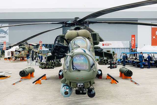 Russian Helicopters Army 2021