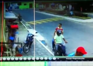 Vídeo: bandidos assaltam banco, mercadinho e fogem no agreste da Paraíba