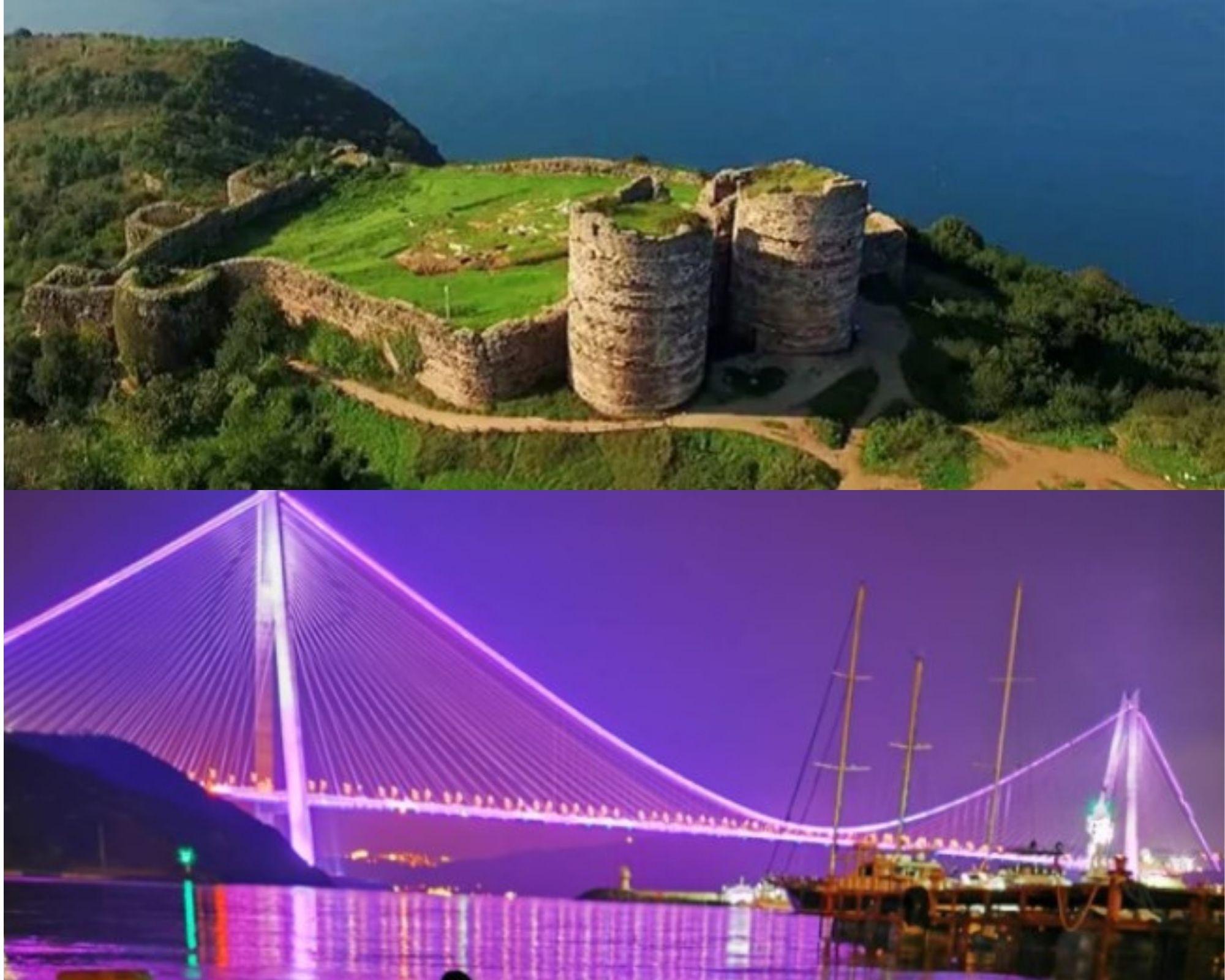 istanbul anadolu yakası tarihi ve doğal gezi yerleri poyrazköy ve yoros kalesi