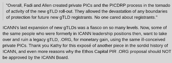 The Sad Story of Private Public Interest Commitments (PICs)