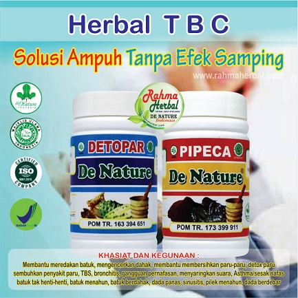 Paket Herbal Paru-paru