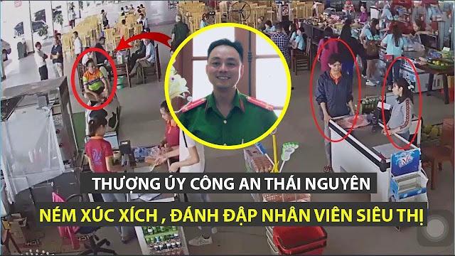 Thượng úy Công An Nguyễn Xô Việt hành động như côn đồ, cậy mình là CA?