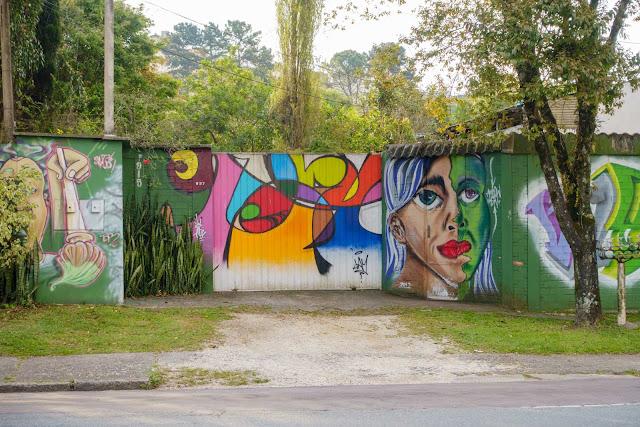 Um grafite bem legal no Cabral