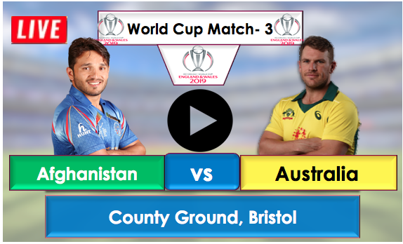 Afghanistan vs Australia  Live Streaming Online, Afghanistan opted to bat