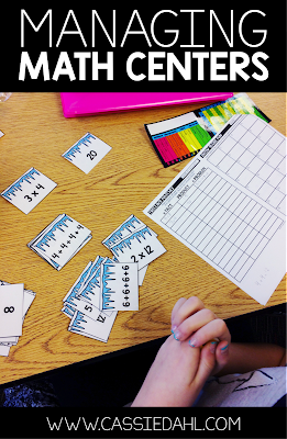 Looking for ways to make your math centers more manageable? This post contains tons of ideas on how you can organize your centers in your classroom to make them more efficient and effective!