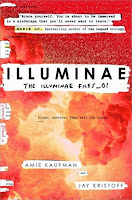 Illuminae by Kaufman and Kristoff book cover and review