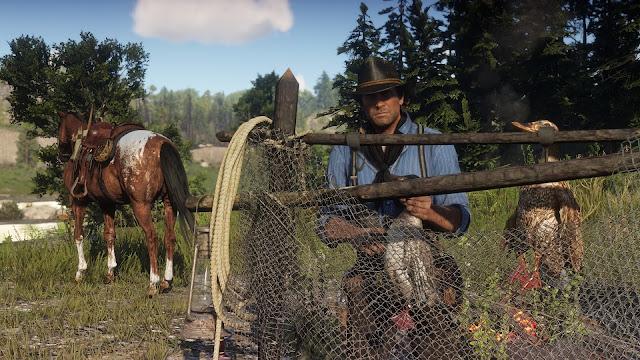 عاجل: شاهد العرض الرسمي الأول لطريقة اللعب من لعبة Red Dead Redemption 2