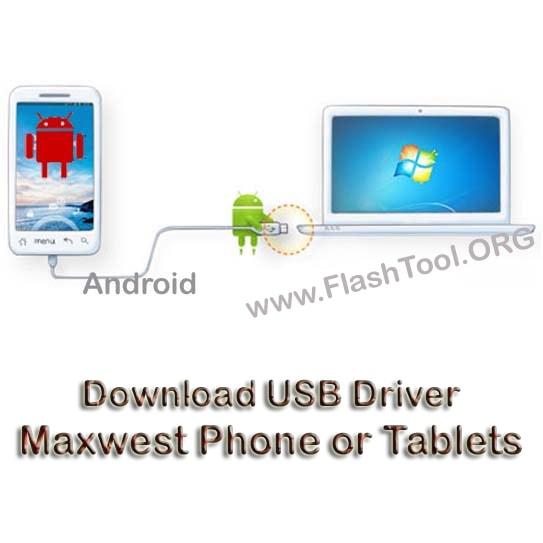 Download Maxwest USB Driver