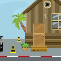 Play GenieFunGames Timber House Rescue Escape