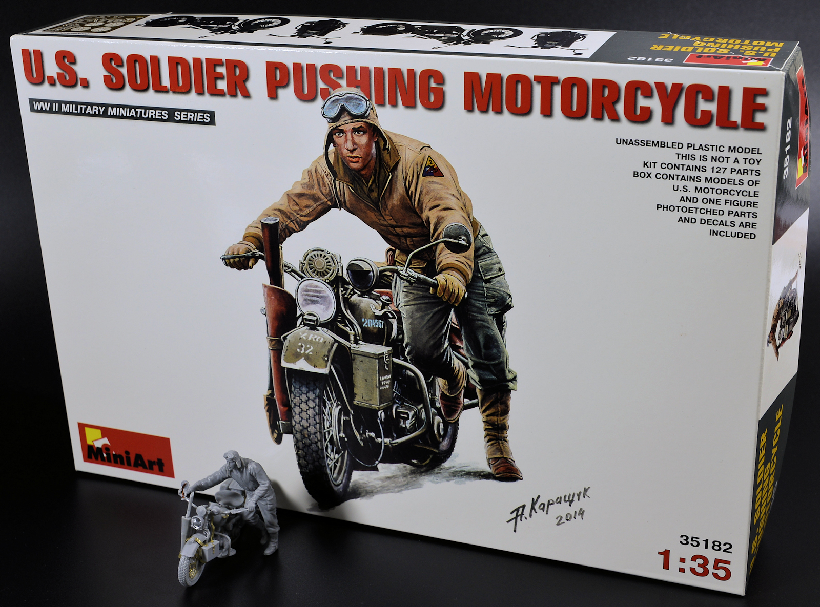 The Modelling News: Construction Review: MiniArt's new 35th
