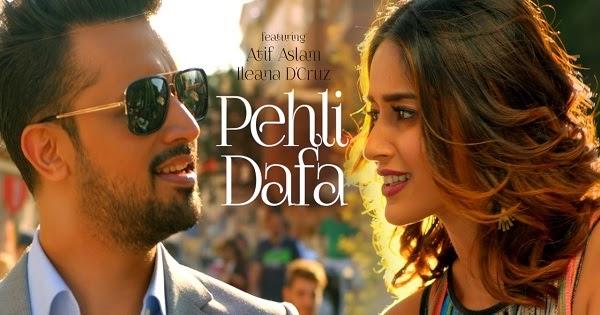 Atif Aslam Pehli Dafa New Indian Hindi Video Songs 2017