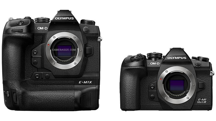Сравнение габаритов Olympus E-M1X и E-M1 Mark III.jpg