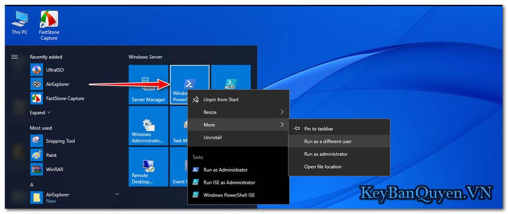 Hướng dẫn nâng cấp Windows Server 2016 Standard lên Datacenter .